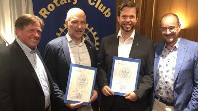 Zwei neue Mitglieder und der Steirerkrone-Chefredakteur